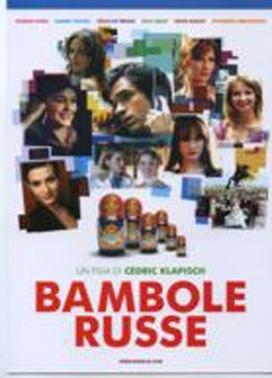 La copertina DVD di Bambole russe