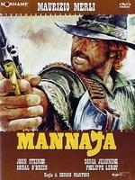 La copertina DVD di Mannaja