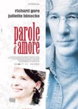 La copertina DVD di Parole d'amore