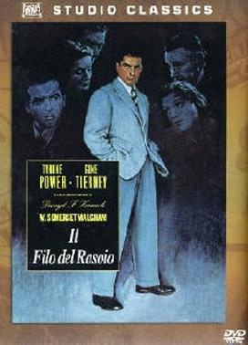 La copertina DVD di Il filo del rasoio