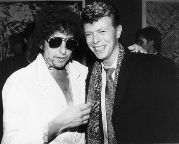 Bob Dylan e David Bowie