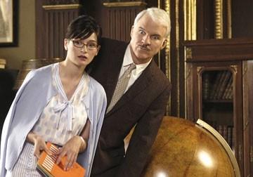 Emily Mortimer e Steve Martin ne La pantera rosa