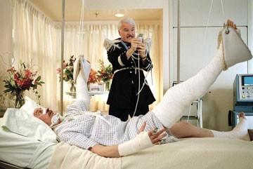 Kevin Kline e Steve Martin ne La pantera rosa