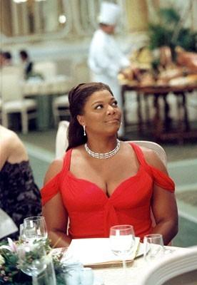 la simpatica e straripante Queen Latifah in L'ultima vacanza