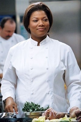 Queen Latifah in divisa da chef in L'ultima vacanza