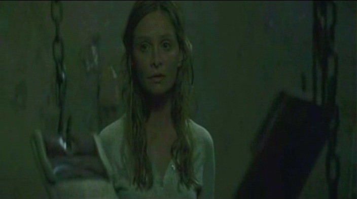 Calista Flockhart in una scena di FRAGILE