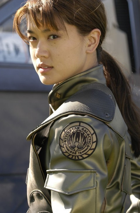 Grace Park in Battlestar Galactica