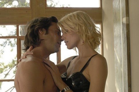 James Callis e Tricia Helfer in Battlestar Galactica