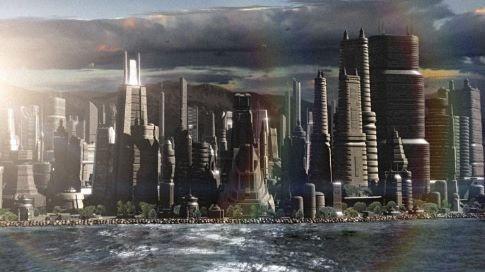 Un'immagine suggestiva di Battlestar Galactica
