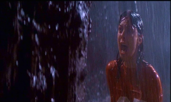JoBeth Williams in una scena di POLTERGEIST
