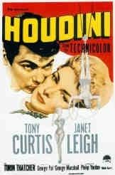La locandina di Il mago Houdini
