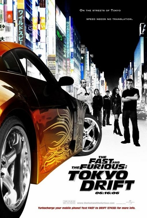 La locandina di The Fast and the Furious: Tokyo Drift