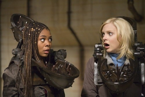 Regina Hall e Anna Faris in Scary Movie 4
