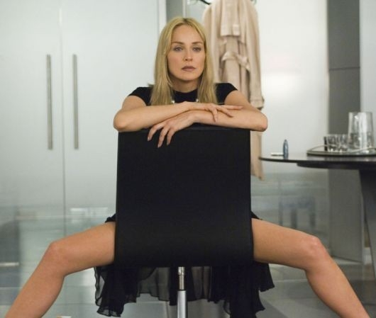 la sexy Sharon Stone in Basic Instinct 2