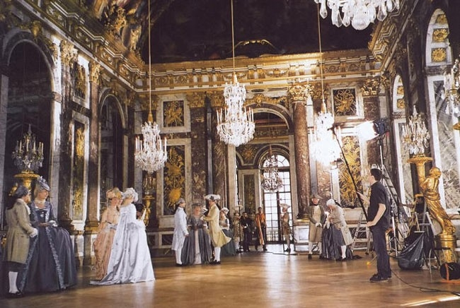 Una scena di Marie-Antoinette