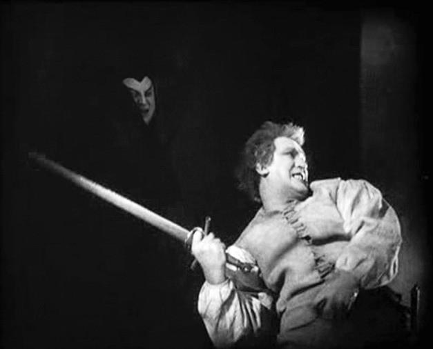 Emil Jannings e William Dieterle in una scena di FAUST