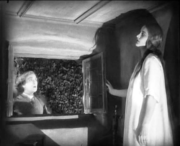 Gösta Ekman e Camilla Horn in una scena di FAUST