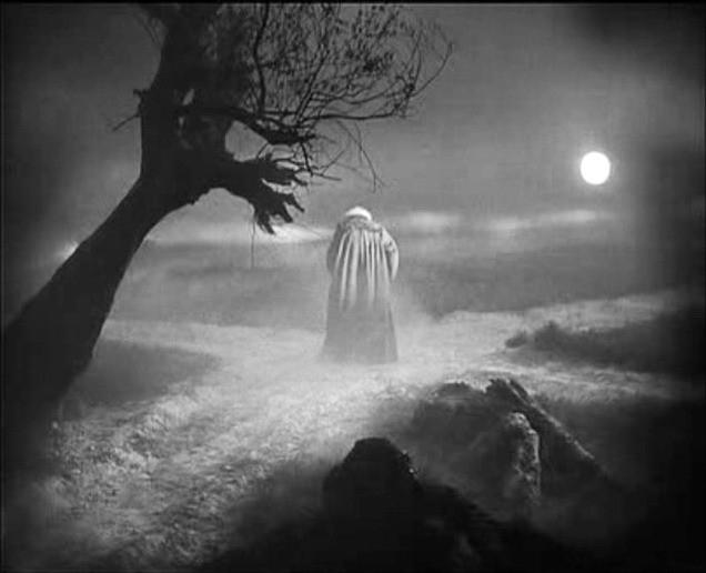 Gösta Ekman in una scena di FAUST, del '26