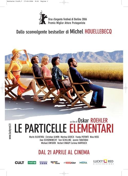 La locandina italiana di Le particelle elementari