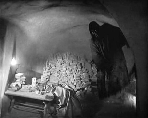 Una scena di FAUST di F.W. Murnau