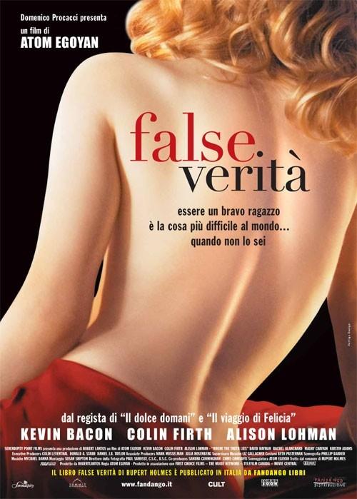 La locandina italiana di False verità