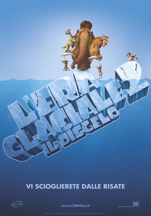 La locandina italiana di L'era glaciale 2