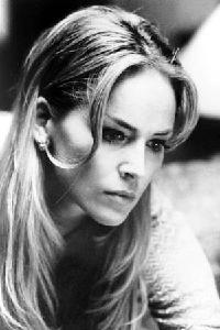 Uno splendido primo piano di Sharon Stone