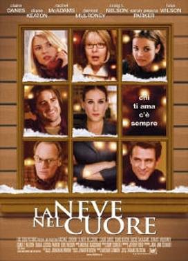 La copertina DVD di La neve nel cuore