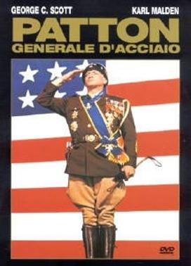 La copertina DVD di Patton - Generale d'acciaio