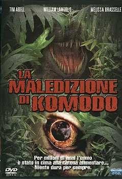 La locandina di La maledizione di Komodo