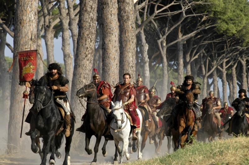Cavalli al galoppo in 'Roma'
