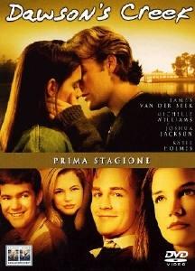 La copertina DVD di Dawson's Creek - Stagione 1