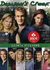 La copertina DVD di Dawson's Creek - Stagione 5