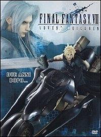 La copertina DVD di Final fantasy VII: Advent Children