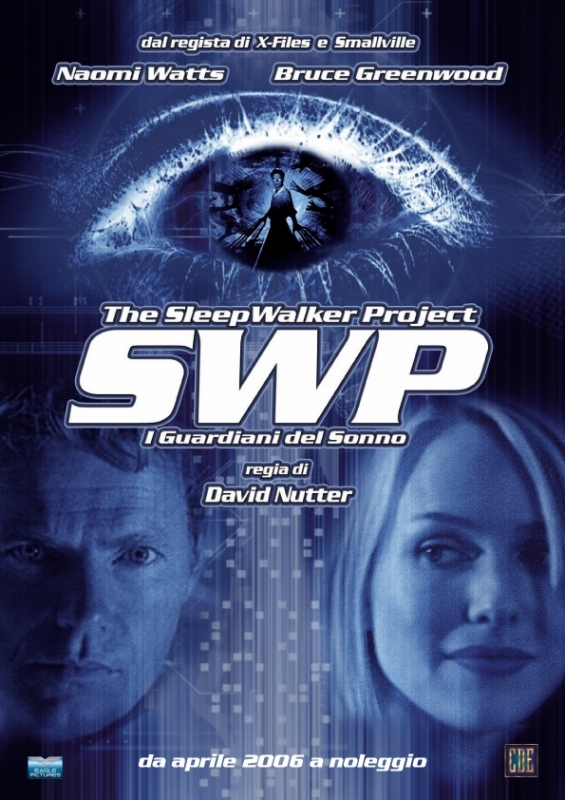"La copertina DVD di The Sleepwalker Projec ??"" I Guardiani del sonno"