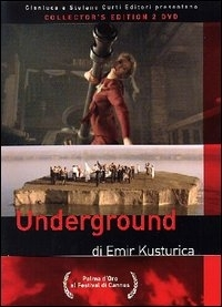 La copertina DVD di Underground - Collector's Edition