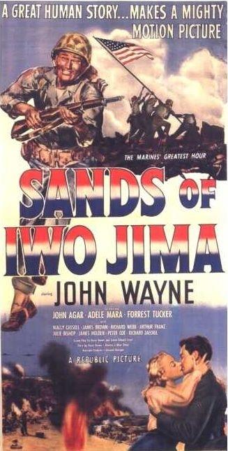La locandina di Iwo Jima, deserto di fuoco