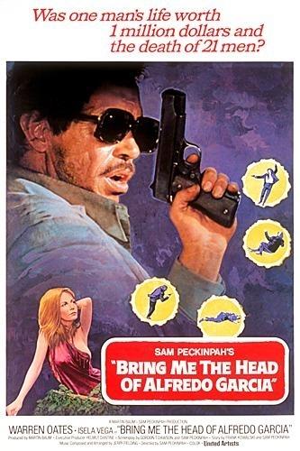 La locandina di Voglio la testa di Garcia