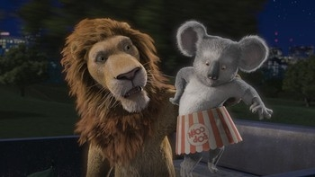 Una scena del film Uno zoo in fuga