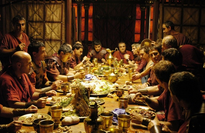 Una scena della serie tv 'Roma'
