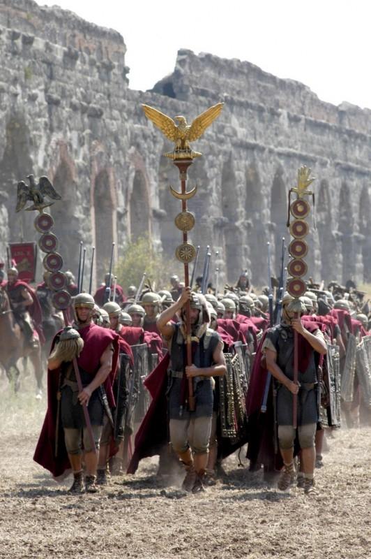 Una scena di Roma, la serie tv