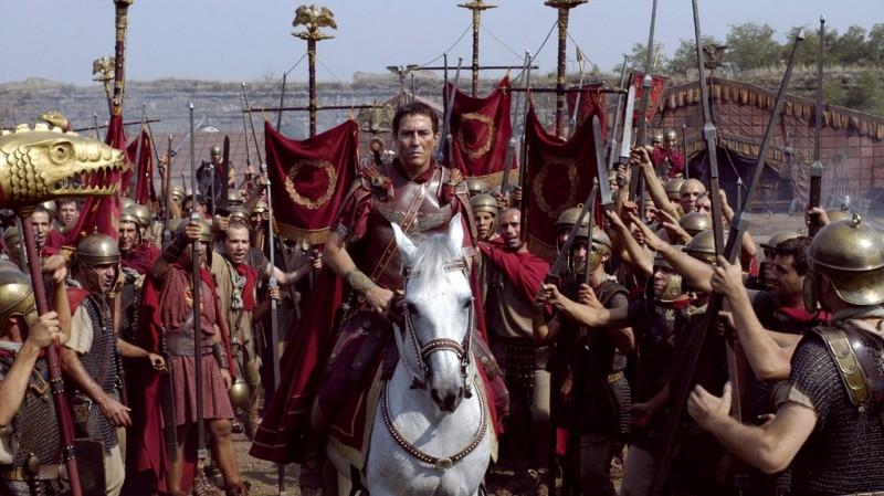 Una scena tratta dalla serietv Roma