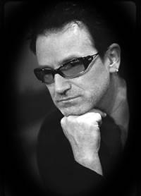 Una foto di  Bono