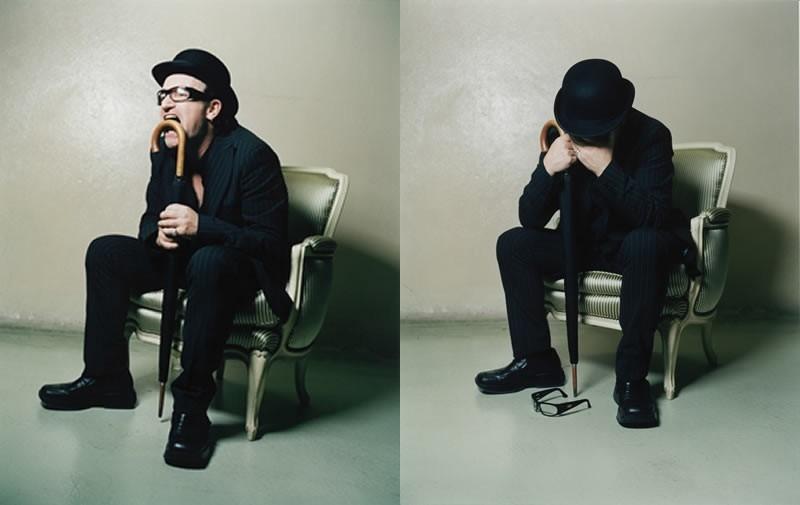 Un'immagine promozionale di Bono