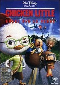 La copertina DVD di Chicken Little - Amici per le penne