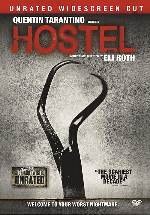 La copertina DVD di Hostel (Unrated Widescreen Edition)