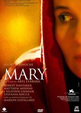 La copertina DVD di Mary