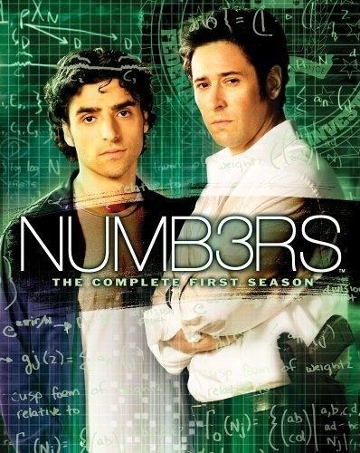 La copertina DVD di Numb3rs - The Complete First Season