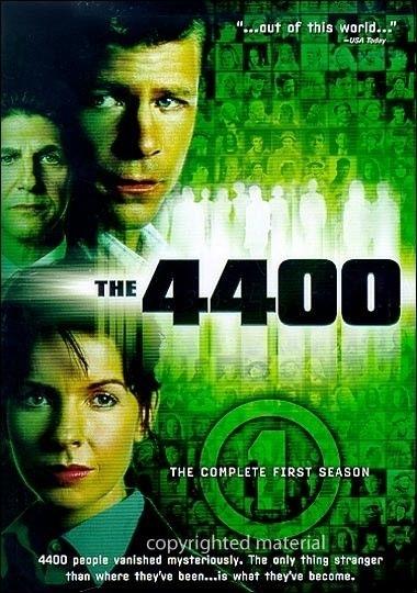 La copertina DVD di The 4400 - The Complete First Season