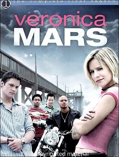 La copertina DVD di Veronica Mars: The Complete First Season